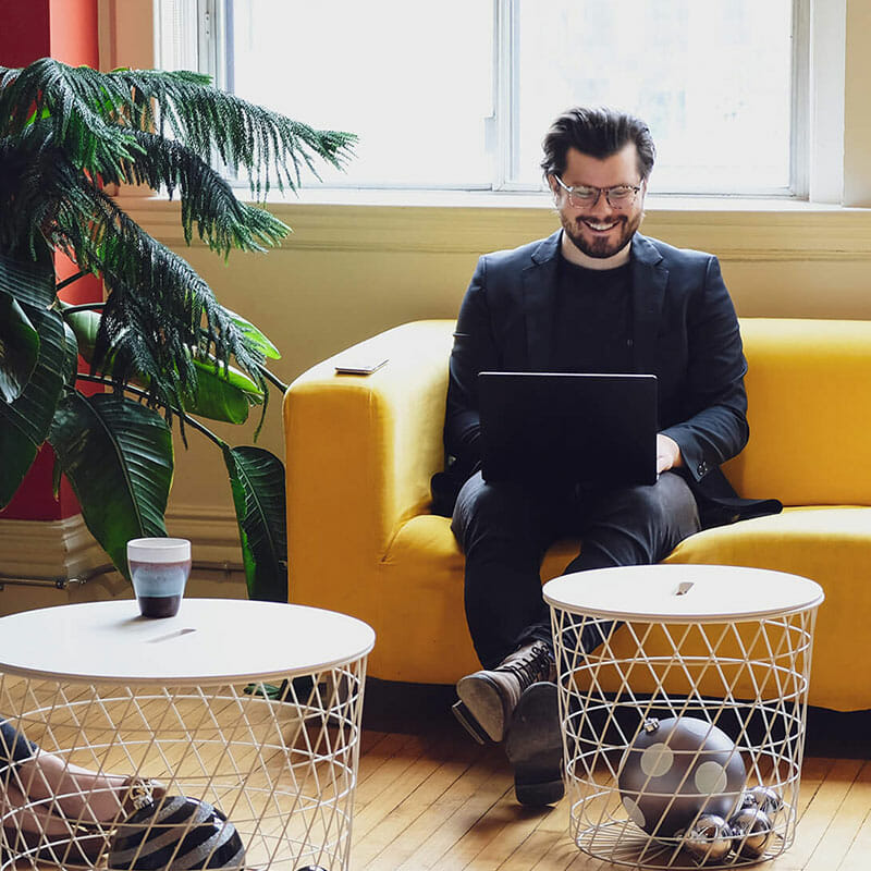Creative workspace digital agency